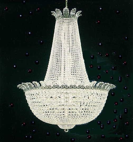 Roman Empire Crystal Chandeliers
